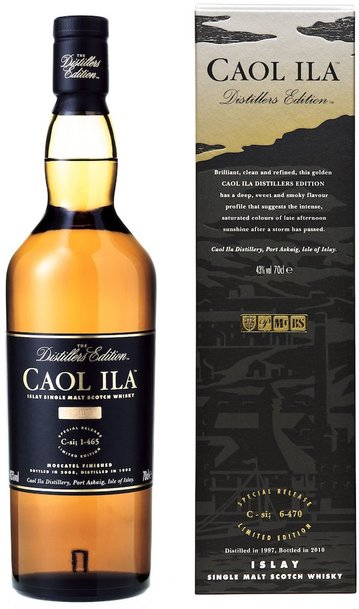 Caol Ila Distillers Edition 700ml w/Gift Box
