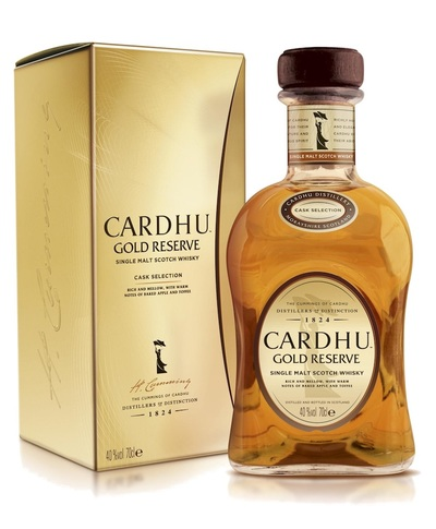 Cardhu Gold Reserve Bottle and Box
