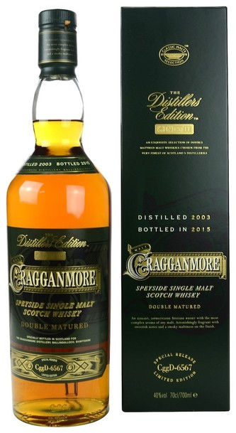 Cragganmore 2003 Distillers Edition w/Gift Box 700ml