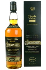 Cragganmore 2003 Distillers Edition bottle with box
