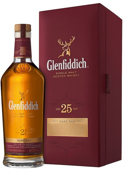 Glenfiddich 25 Year w/Gift Box