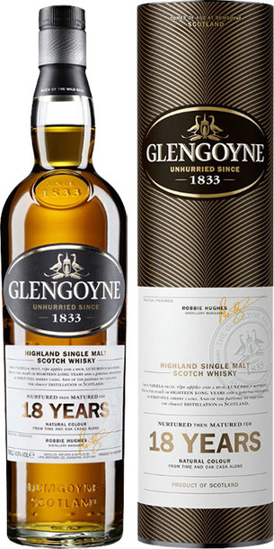 Glengoyne 18 Year 700ml w/Gift Box