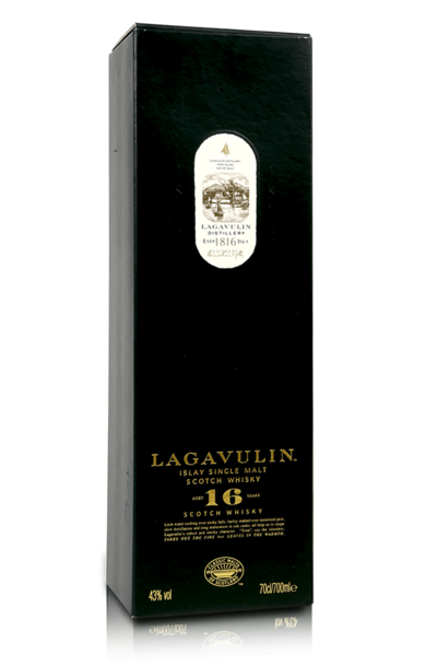 Lagavulin 16 year box
