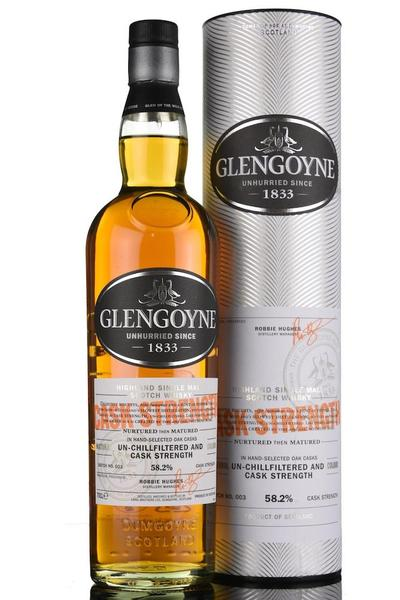 Glengoyne Cask Strength 700ml bottle and box