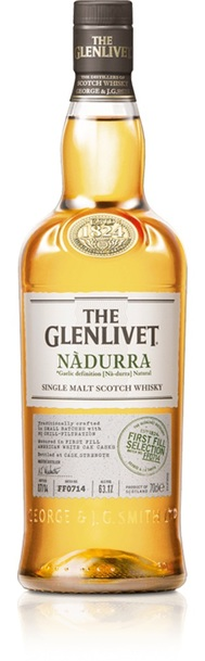 Glenlivet nadurra first fill selection bottle
