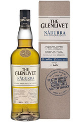 Glenlivet Nàdurra Peated Whisky Cask Finish bottle and box