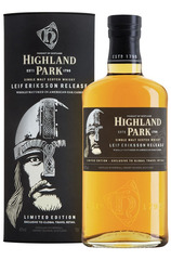 Highland Park Leif Eriksson Release Limited Edition Bottle and box
