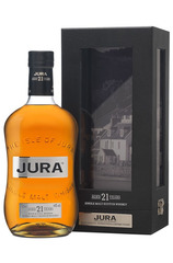 Isle of Jura 21 Year 700ml bottle and box