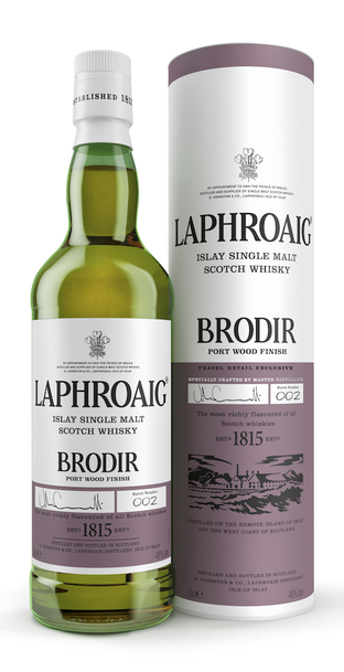 Laphroaig Brodir Port Wood Finish w/Gift Box