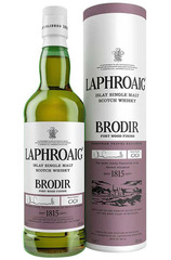 Laphroaig Brodir Port Wood Finish bottle and box