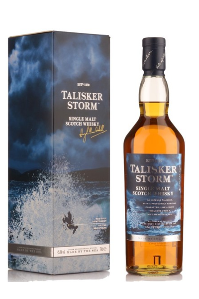 Talisker Storm 700ml bottle and box