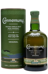 Connemara Peated 700ml bottle and box