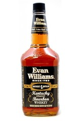 Evan Williams Black Label 750ml bottle
