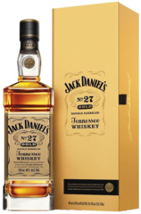 Jack Daniels No. 27 Gold 700ml bottle and box