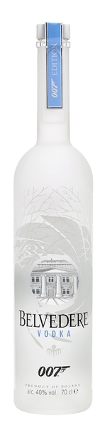 Belvedere 007 Limited Edition 700ml bottle