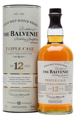 Balvenie 12 Year Triple Cask bottle and box
