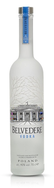 Belvedere 1L bottle
