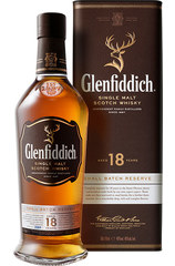 Glenfiddich 18 year 1L w/Gift box