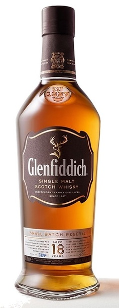 Glenfiddich 18 bottle