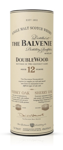 Balvenie 12 year double wood box