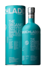 Bruichladdich The Organic Scottish Barley w/Gift Box New Image bottle and box