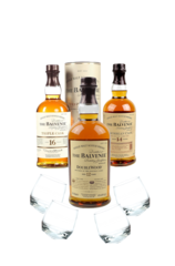 Fu Lu Shou Balvenie Scotch Trio Gift Set
