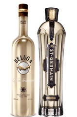 Beluga Celebration & St Germain Elderflower set