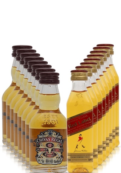 8 x chivas red label set