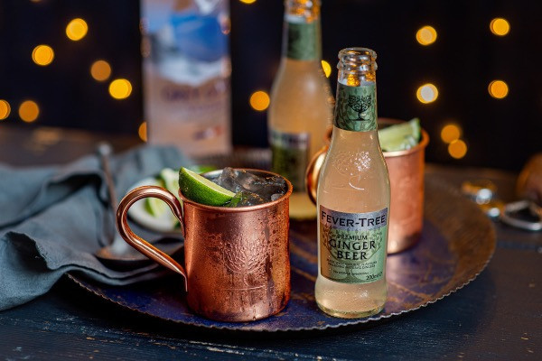 Moscow Mule with Fever-Tree